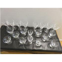 20 Pieces of Pinwheel crystal