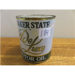 1 US gallon Quaker state oil display can