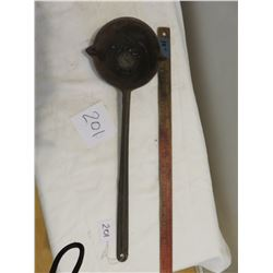 Ladle for melting lead - 14""
