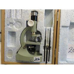 Taser Deluxe microscope from 1960