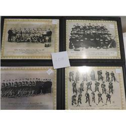 1933 Old hockey teams, Halifax, Winnipeg, Montreal, Boston