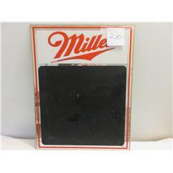 Miller beer chalkboard - not metal