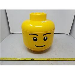 LEGO HEAD FILLED W/ LEGO