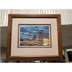 FRAMED & MATTED PICTURE MADE IN CANADA JIM HANSEL