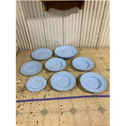 12 BLUE JOHNSONS DISHES