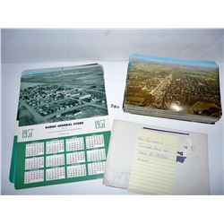 McPhail Airways Calendars/Postcards; pcs have many duplicates
