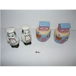 Chefs, Noah's Ark Salt & Pepper Shakers