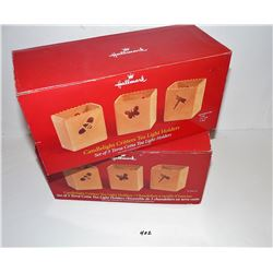 Hallmark Tea Light Holders New In Boxes