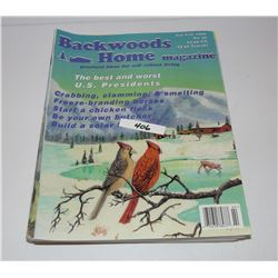 6 Backwoods Home Magazines