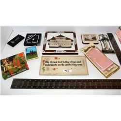 RCMP Address Book, Australian Coasters, Wall Plaques, Luck Lake Thermometer, etc.