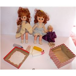 Vintage Dolls And Doll Baby Bottles