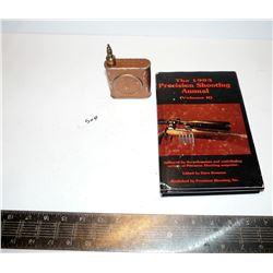 Vintage Oil Tin, Shooting Book