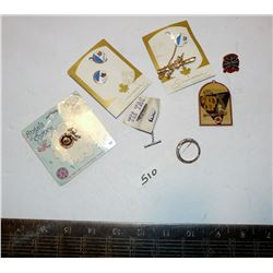 Vintage Jeux Canada  Games Items, Pins, Ford Thunderbird Tie Tack, Etc.