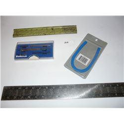 Staedtler Geometry Set, Vintage Ruler