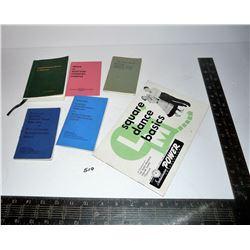 Vintage Scottish Country Dance Books & Sask Power Square Dance Book