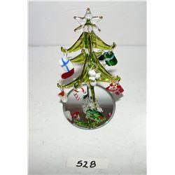 Avon Blown Glass Christmas Tree (NIB)