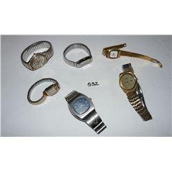 Watches - Seiko, Bulova, Gruen, Etc.