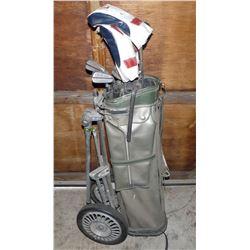 Golf Clubs & Cart