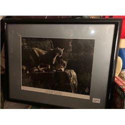 """Al Nelson Weitzel artwork 17.5"""" X 21"""""""