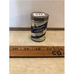 Salesman free sample Neilson's Cocoa litho tin