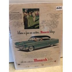 1953 Monarch ad