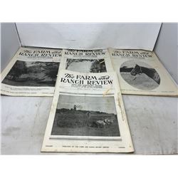 The Farm & Ranch Review - Farm & Country Magazines, 1915, WW1