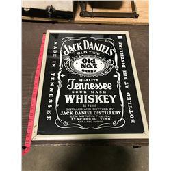 Jack Daniels Whiskey Advertising Poster