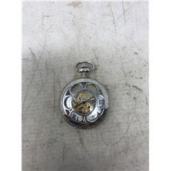 Pocket Watch, Silver Case