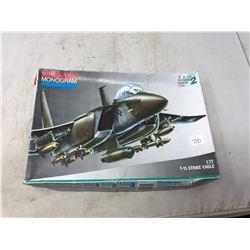 Monogram Unbuilt F-15 Model Airplane