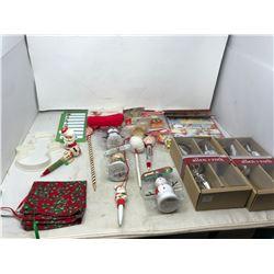 Basket Christmas Collectibles