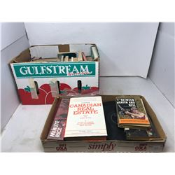 Box Of Assorted Books & Records
