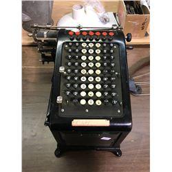"1910 ""Burroughs"" Deluxe Adding Machine"