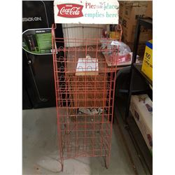 Coke Bottle Return Rack