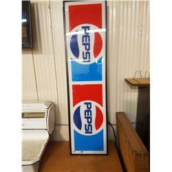 "Pepsi Sign 14"" X 52"" (Lightup)"