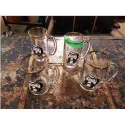 4 Skunk Glasses