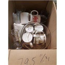 Cups , Mugs & Cake Plate