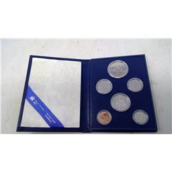 1981 6-coin Specimen set. In case of issue.