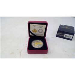 2014 $20 Perched Bald Eagle. .9999 pure silver. Proof with Gold Plating. In case of issue.