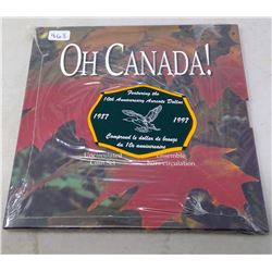 Oh Canada 1987-1997 Uncirculated 7-coin set. Commemorates the 10th Anniversary of the first Loonie.