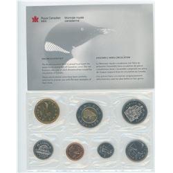 2000W 7-coin Proof Like Set. Winnipeg Mint issue.