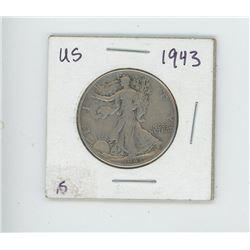 1943 US HALF DOLLAR