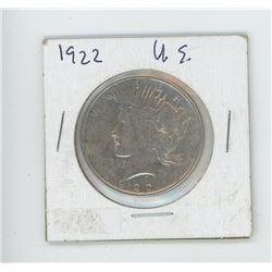 1922 US MORGAN DOLLAR