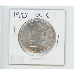 1923 US MORGAN DOLLAR