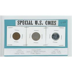 3 SPECIAL US COINS