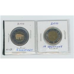 2010-14 and 16 serrations toonies