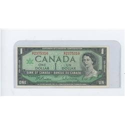 1967 bank of Canada dollar bill - choice UNC