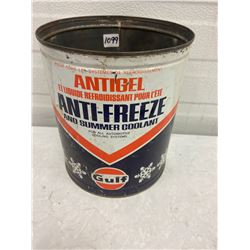 Gulf Antifreeze Tin