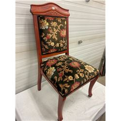 Upholstered Settee Chair