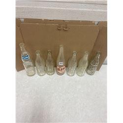 7 Pop Bottles - 1945 & 1950's