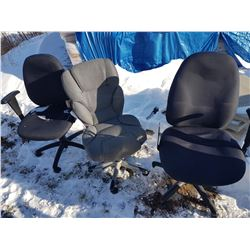 Lot 3Office Chairs